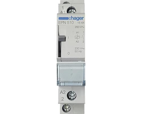 Télérupteur 16A 1 fermeture Hager EPN 510