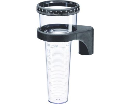 TFA Pluviomètre avec bague de réglage, plastique