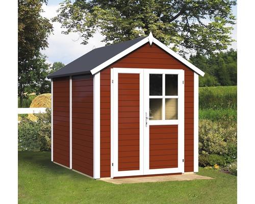 Abri à outils Fino 2, 181x239 cm, rouge suédois