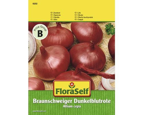 Oignon rouge foncé de Brunswick semences de légumes FloraSelf®