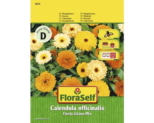 Soucis ''Calendula officinalis Fiesta Gitana'' semences de fleurs FloraSelf