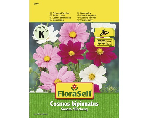 Cosmos Sonata, mélange, semences de fleurs FloraSelf®