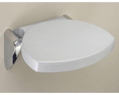 Siège de douche Schulte 31x29cm brillant-gris