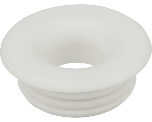 Raccord de tube de rinçage blanc