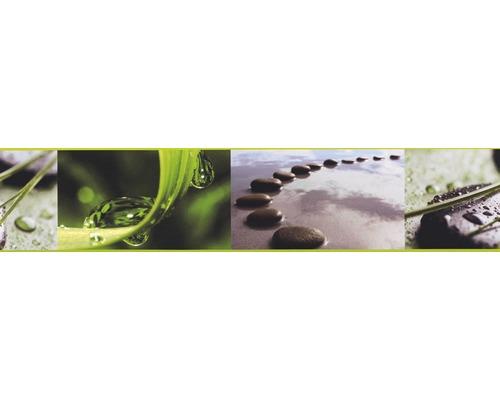Frise Stick Up`s Pierres Gouttes gris 5m x 10.6 cm