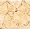 PVC Togo Bruchsteinoptik sand 400 cm breit (Meterware)