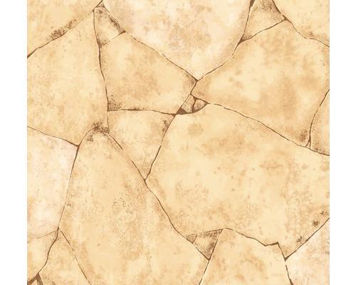 PVC Togo aspect pierres concassées sable largeur 400cm (marchandise au mètre)