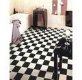 PVC Lord Schachbrettoptik schwarz-weiß 400 cm breit (Meterware)