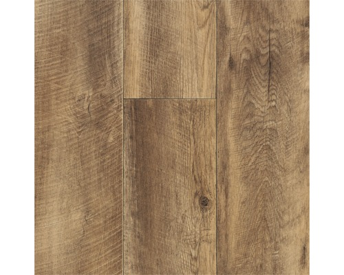 PVC Lord décor planche noyer aspect bois largeur 400cm (marchandise au mètre)