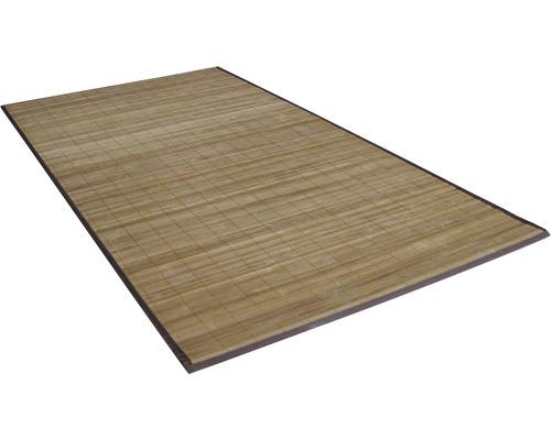 Tapis en bambou nature 80 x 150 cm