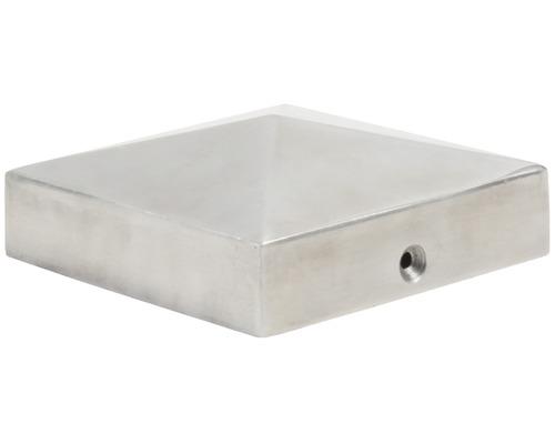 Couvre poteau, 9x9 cm, aluminium