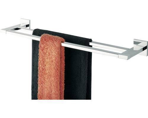 Doppel-Handtuchhalter TIGER Items 58 cm chrom