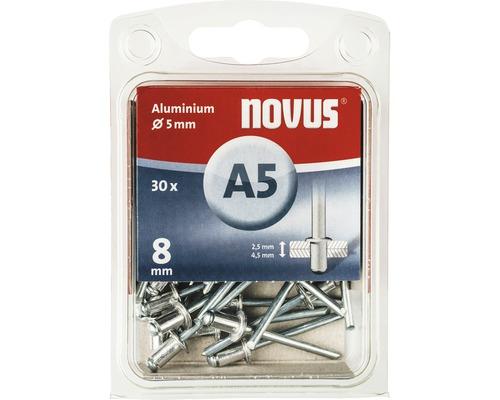 Novus Blindnieten Aluminium Ø 5x8 mm 30er Pack
