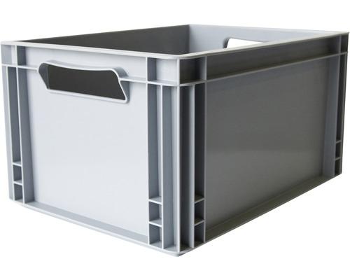 Boîte empilable 27 L 400x220x300 mm grise