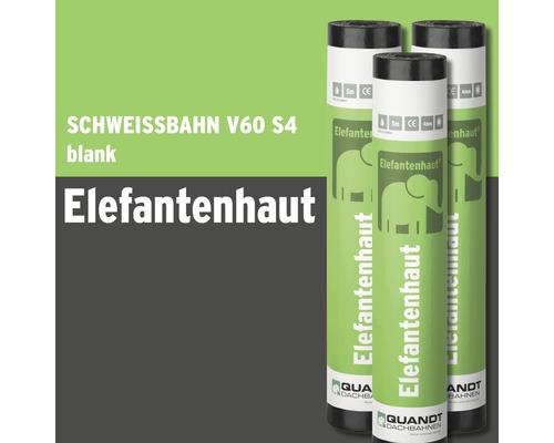 Bitumen Schweißbahn Elefantenhaut V60 S4 Blank Rolle = 5 m²