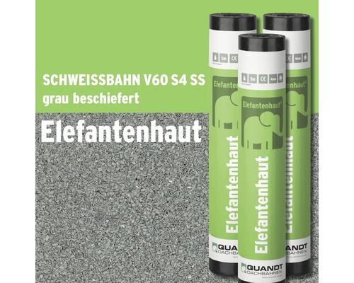 Bitumen Schweißbahn Elefantenhaut V60 S4 grau beschiefert Rolle = 5 m²