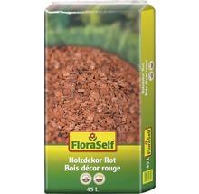 Holzdekor 10-40 mm FloraSelf rot 45 L-thumb-0