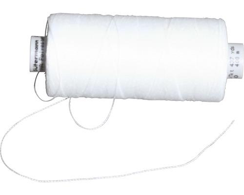 Fil à coudre blanc pour voile d''ombrage en polyester 400 m