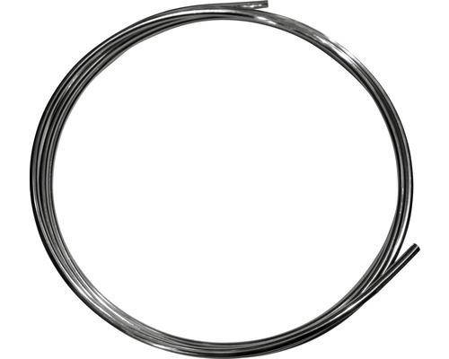 Conduit en cuivre chromé 10mm (anneau env. 5m)