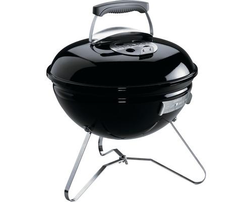 Barbecue Weber au charbon de bois Smokey Joe Original Ø 37 cm noir avec grille chromée, système de nettoyage One-Touch
