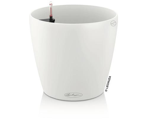 Pot de fleurs Lechuza Classico Color plastique Ø 21 H 20 cm blanc