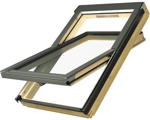Fenêtre à ouverture par rotation Aron FTS-V U2 78x98cm avec aération permanente V10