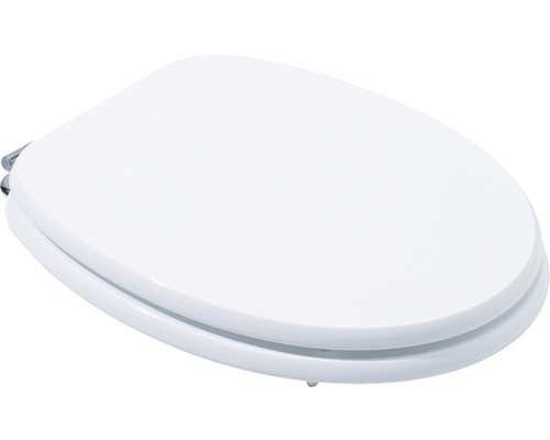 WC-Sitz Basic weiß 44x37,5 cm