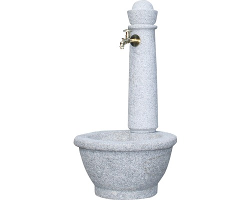 Fontaine robinet Roma, granite