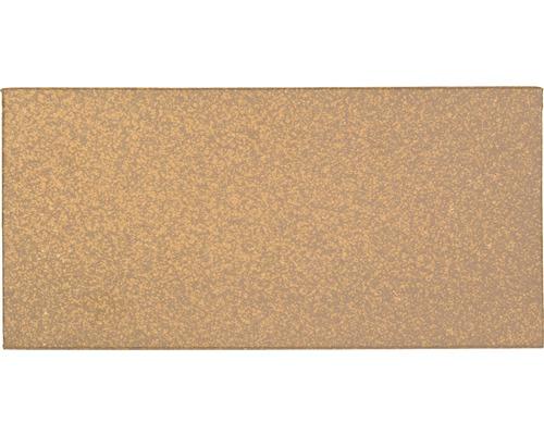 Plaque fendue brun 11,5x24cm Non vitrifié