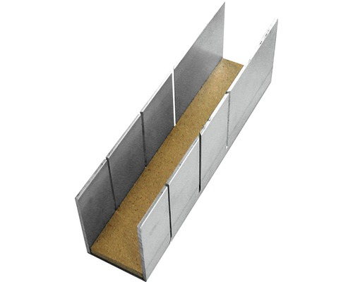 Boîte à onglets alu 245 mm
