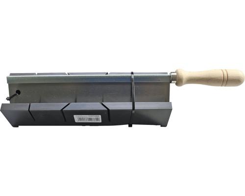 Scie fine et boîte à onglets plastique 250 mm