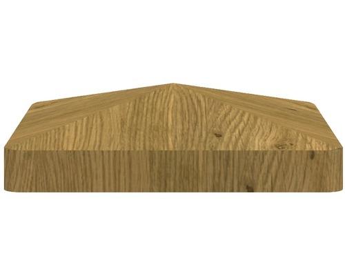 Couvre poteau BasicLine, 8,7x8,7 cm, chêne sauvage