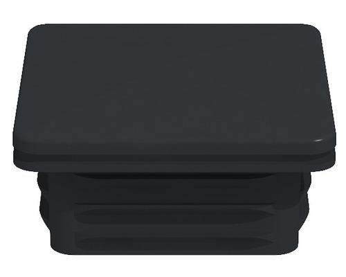 Cache de poteau Belfort, 6x6 cm, anthracite
