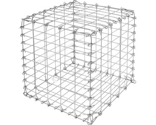 Gabion à pierres 50x50x50 cm, maille 10x5 cm