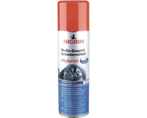 Disulfure de molybdène avec graphite Nigrin 250ml