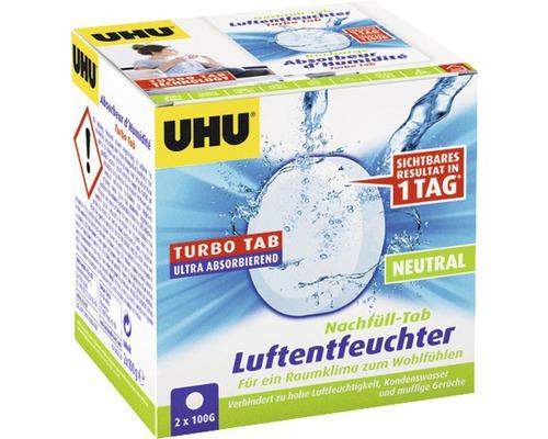 UHU air max Recharge pour déshumidificateur pastilles neutres 2x100 g