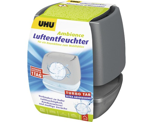 UHU air max Déshumidificateur d''air anthracite 100 g