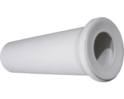 Anschlußstutzen fur Uni-WC weiß