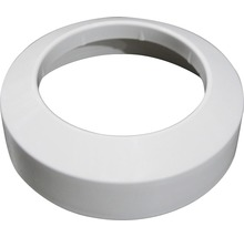 Rosette plate en PVC 110 mm blanche-thumb-0