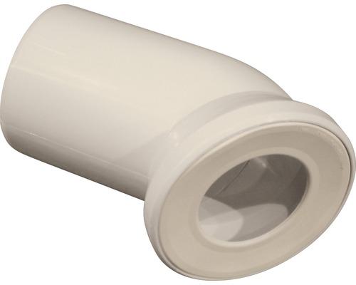 Uni-WC-Anschlußbogen 45° pergamon