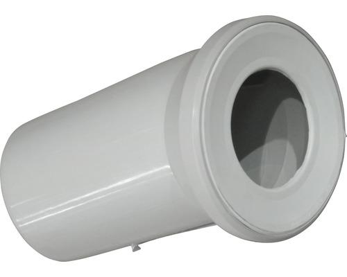 Coude de raccordement WC universel 22° manhattan
