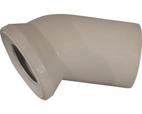 WC-Anschlussbogen 45° beige