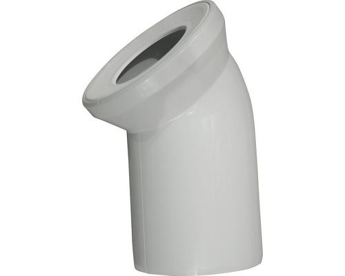 Coude de raccordement WC universel 45° manhattan