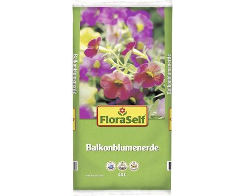 Balkonblumenerde FloraSelf 40 L