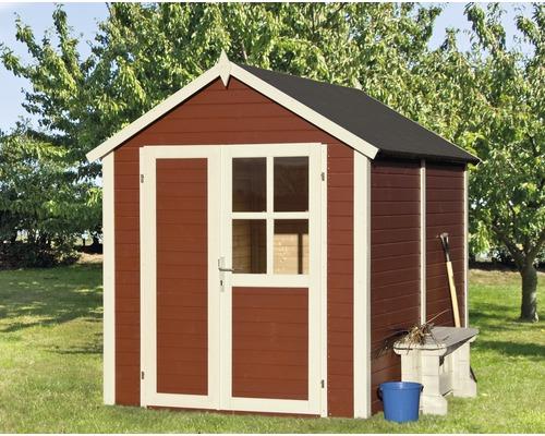 Abri à outils Fino 1, 181x175 cm, rouge suédois