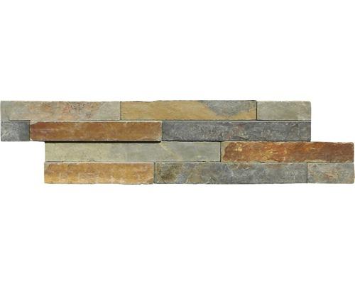Pierre de parement pierre naturelle ardoise Multicolor Z60/15