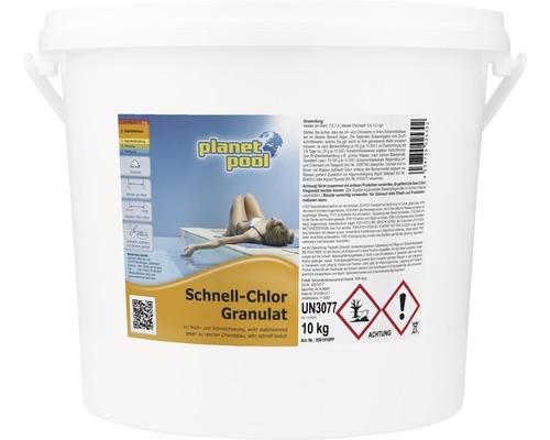 Granulés de chlore rapide, 10kg