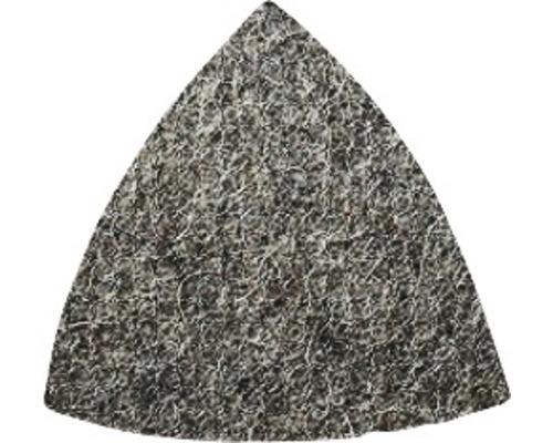 Feuille abrasive non-tissée triangulaire Bosch 93 x 93 x 93 mm, grain 100, sans perforation, lot de 50-0