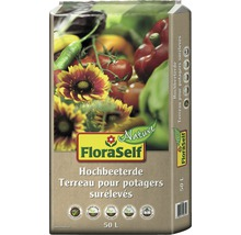 Terreau pour potagers surélevés FloraSelf®, 50 L