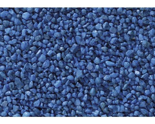 Gravier coloré 25kg bleu gentiane